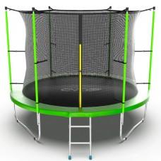 Батут EVO JUMP Internal 10ft (Green) с лестницей