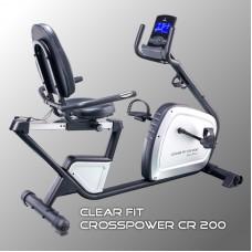 Велотренажер Clear Fit CrossPower CR 200
