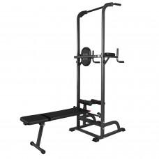 Тренажер ROYAL Fitness Силовая стойка со скамьей
