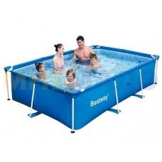 Каркасный сборный бассейн 300х201х66 см, 3300