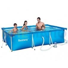 Каркасный летний бассейн 300х201х66 см