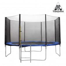 Батут DFC Trampoline Fitness 10 футов с сеткой + Лестницей